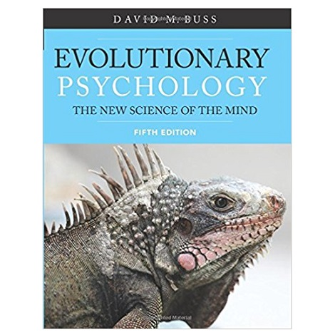 Evolutionary Psychology by David Buss