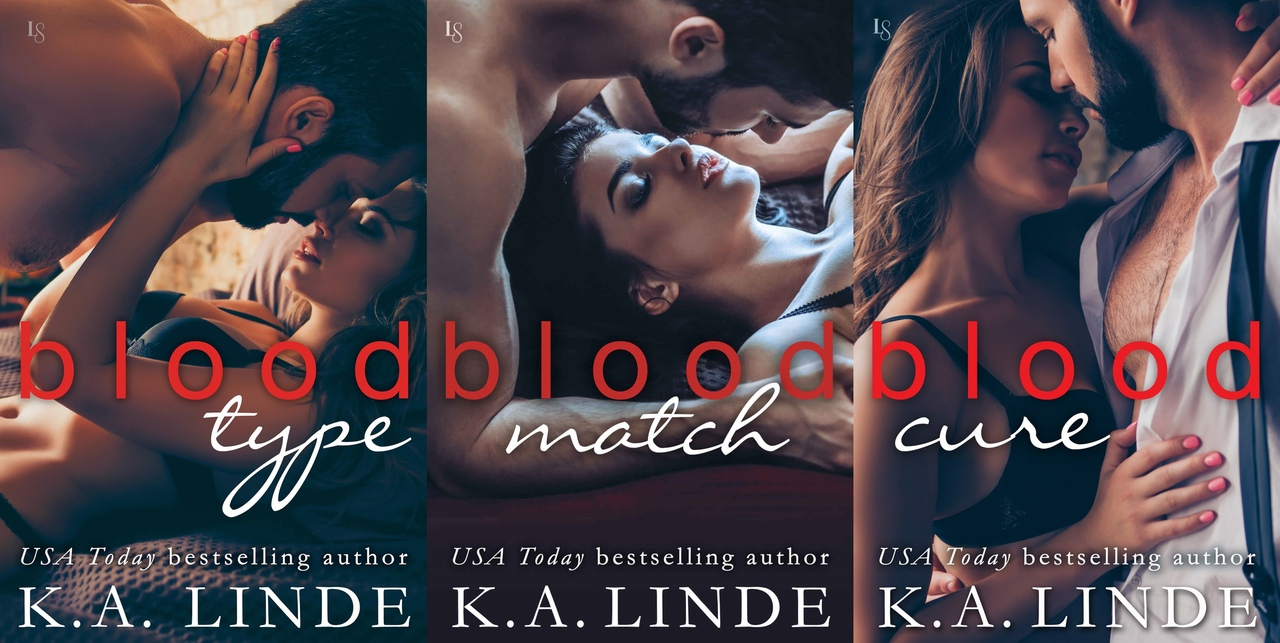 Blood Type Series by K.A. Linde