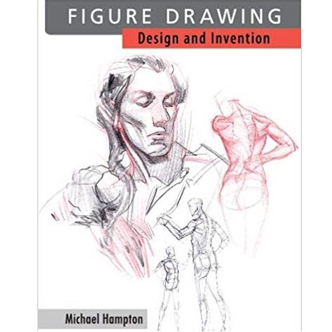 Figure Drawing by Michael Hampton