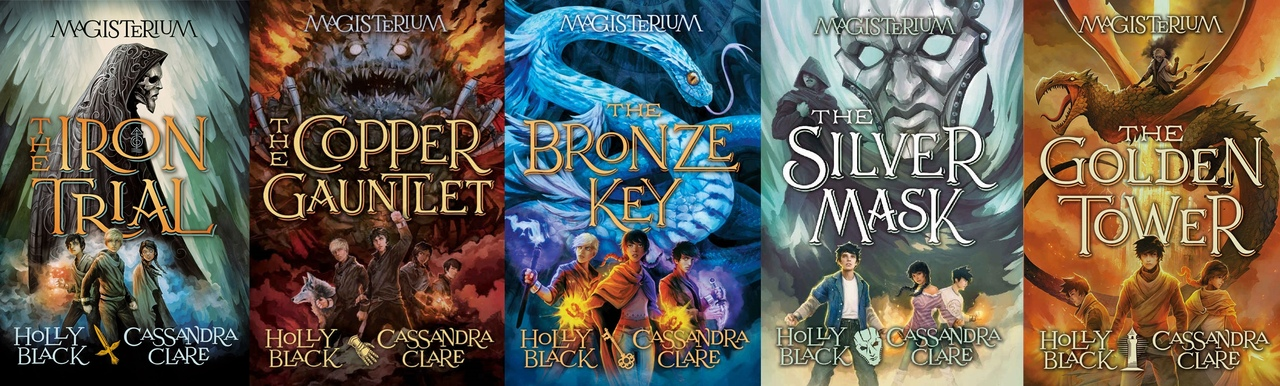 Magisterium series by Holly Black & Cassandra Clare P