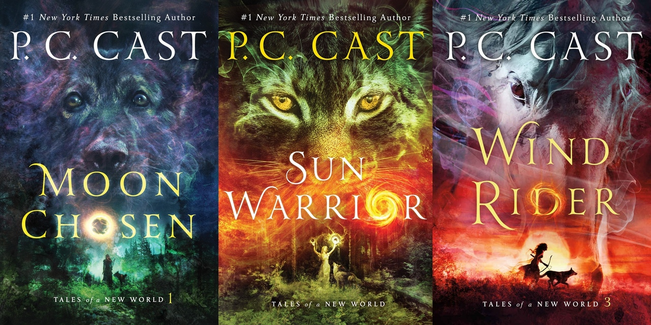 Tales of a New World Series by P.C. Cast
