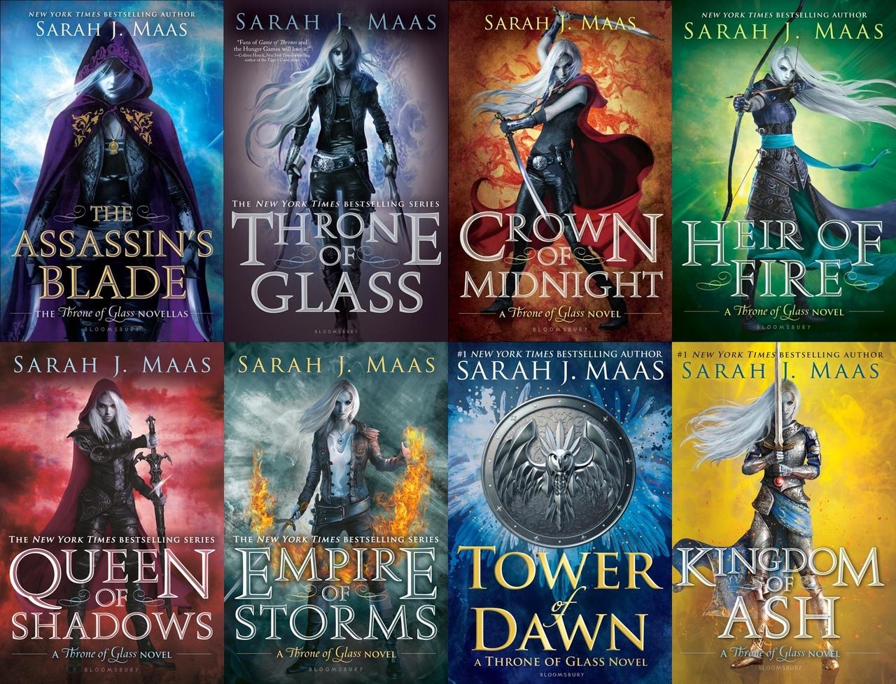 Throne of Glass Series by Sarah J. Maas