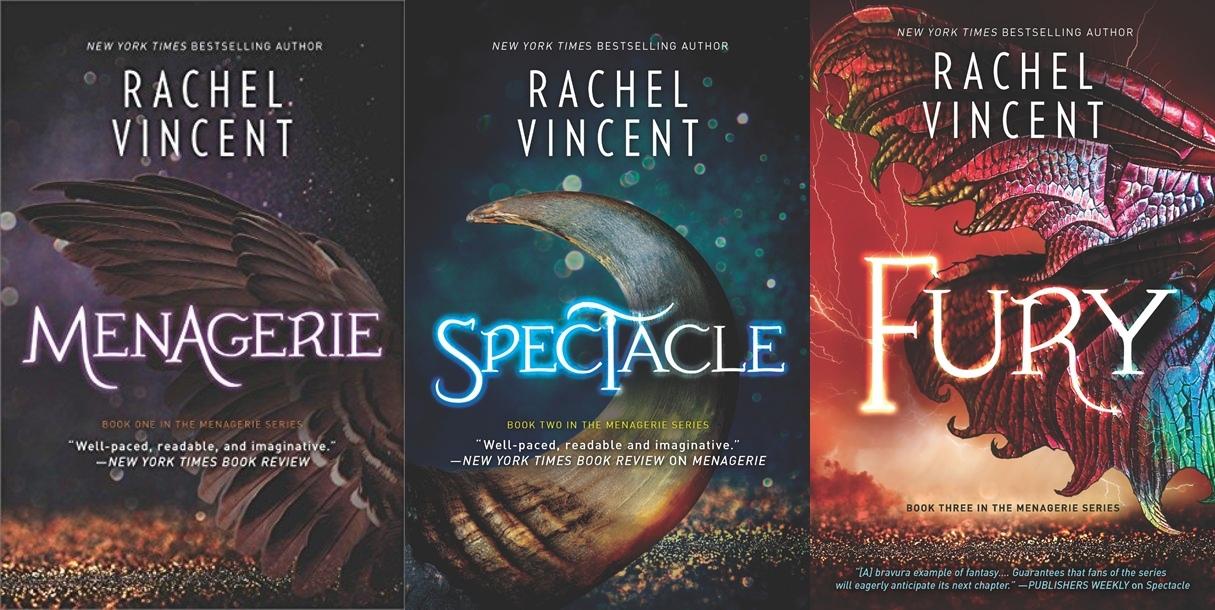 Menagerie Series by Rachel Vincent PDF Download