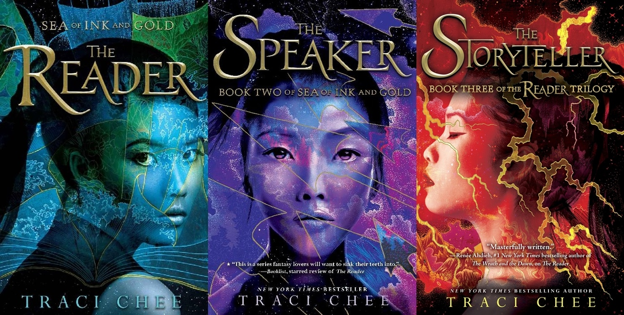 Sea of Ink and Gold Series by Traci Chee
