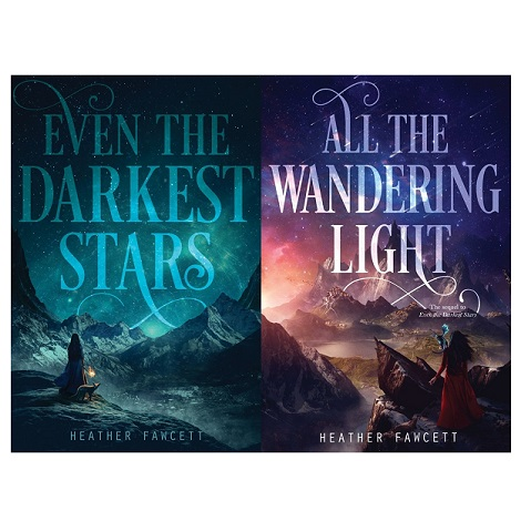 Even the Darkest Stars Series by Heather Fawcett PDF