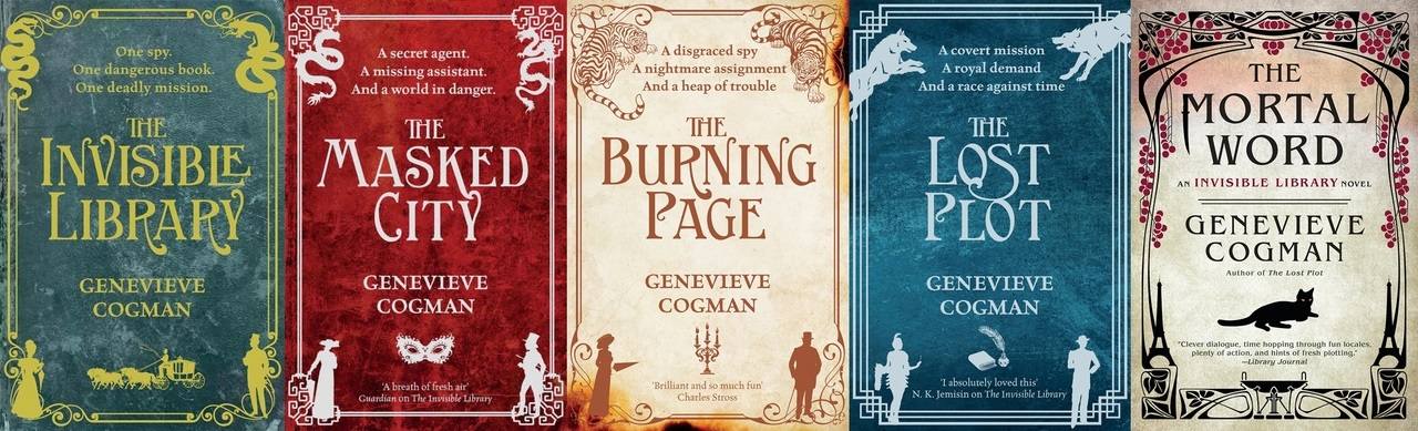 The Invisible Library Series by Genevieve Cogman PDF
