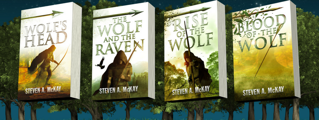 The Forest Lord Series by Steven