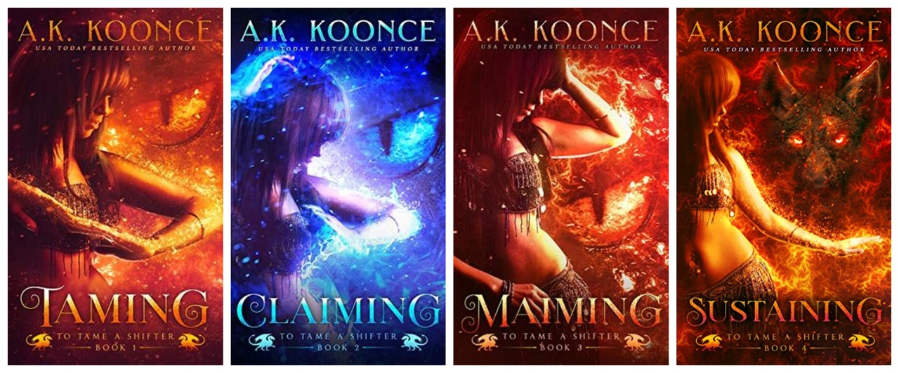 To Tame a Shifter Series by A.K. Koonce ePub