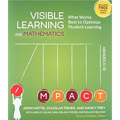 Visible Learning for Mathematics, Grades K-12 by John Hattie PDF Download