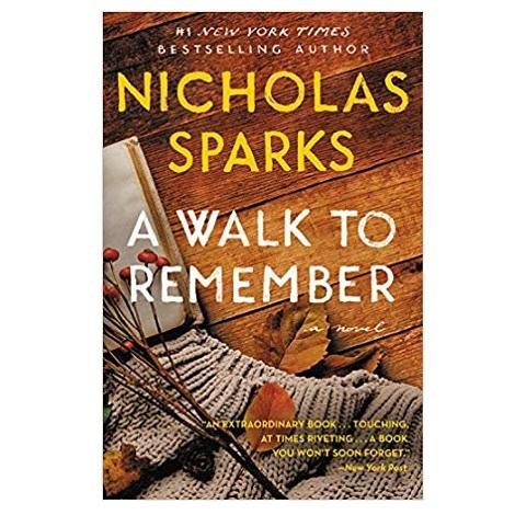 a walk to remember nicholas sparks free pdf