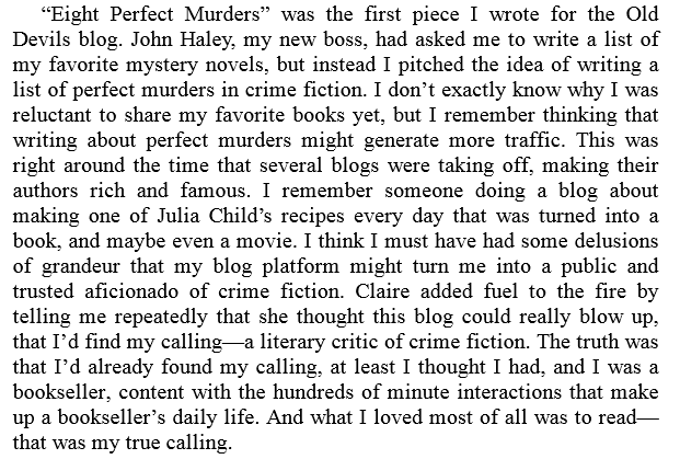 Rules for Perfect Murders by Peter Swanson PDF