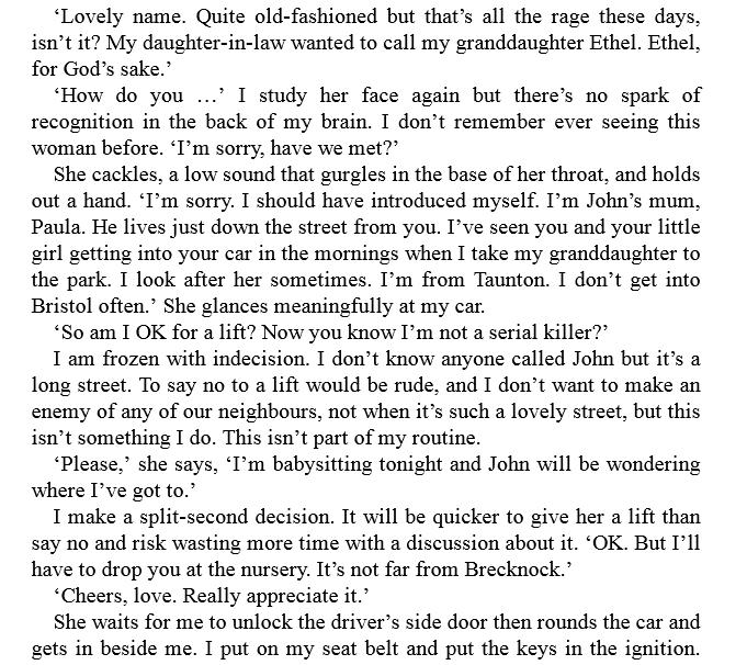 The Escape by C.L. Taylor PDF
