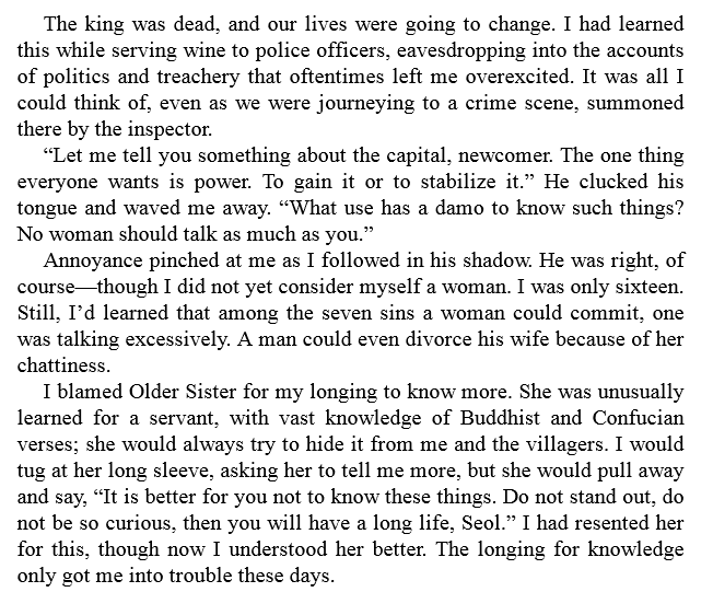 The Silence of Bones by June Hur PDF