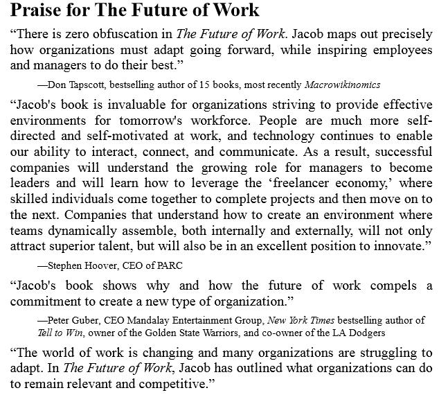 The Future of Work by Jacob Morgan ePub