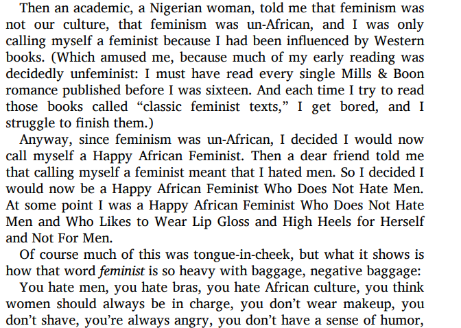 We Should All Be Feminists by Chimamanda Ngozi Adichie PDF