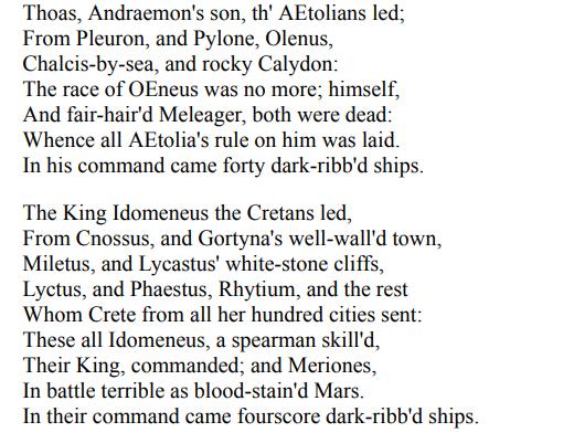 The Iliad by Homer PDF