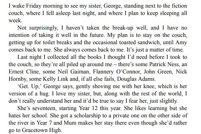 Words In Deep Blue by Cath Crowley ePub