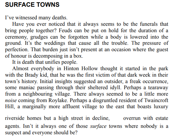 Hinton Hollow Death Trip by Will Carver pdf