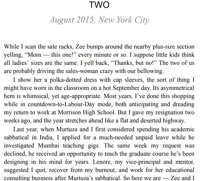 Seven by Farzana Doctor PDF