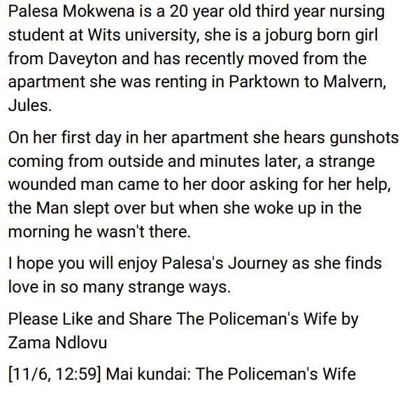The Policeman's Wife by Zama Ndlovu ePub