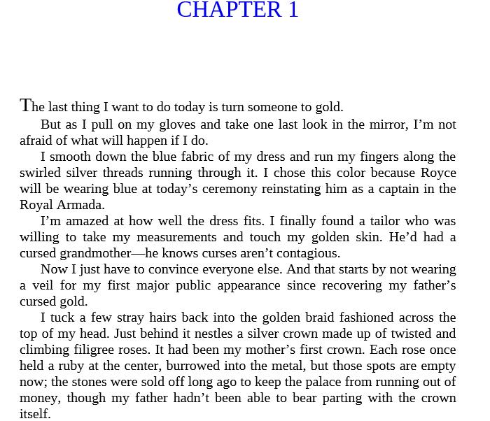 A Curse of Gold by Annie Sullivan epub