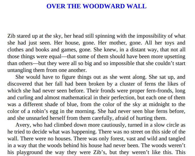 Over the Woodward Wall by A. Deborah Baker PDF