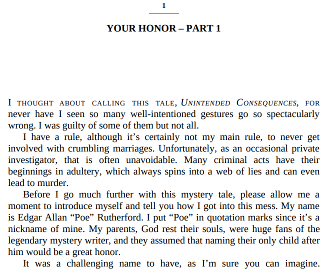 Poe's First Law by Robert W. Stephens ePub
