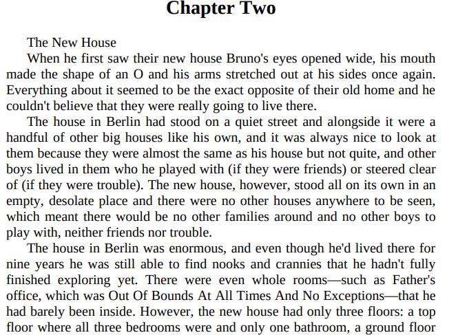 The Boy in the Striped Pajamas by John Boyne PDF