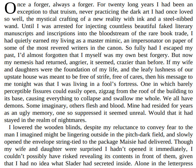 The Forger's Daughter by Bradford Morrow PDF