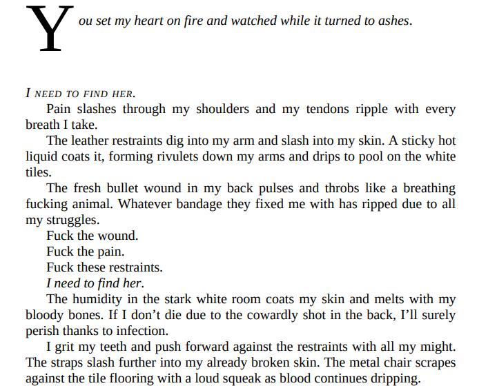 Misted A Dark Mafia Romance (Team Zero Book 5) by Rina Kent