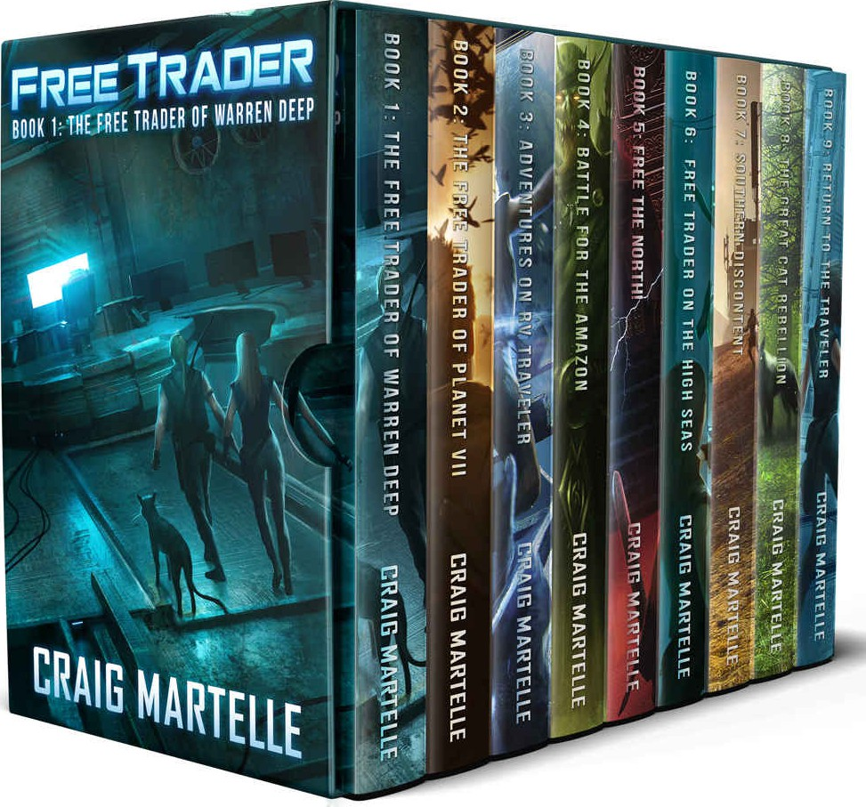 Free trader Science Fiction Omnibus 1 - 9 by Craig Martelle