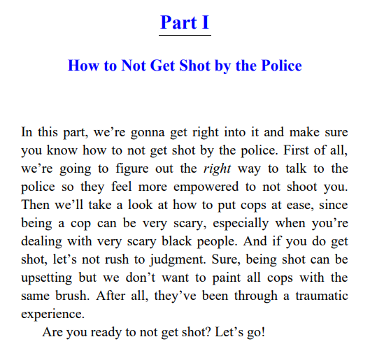 How Not To Get Shot by D L Hughley