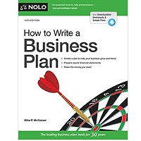 How to Write a Business Plan by Mike P. McKeever