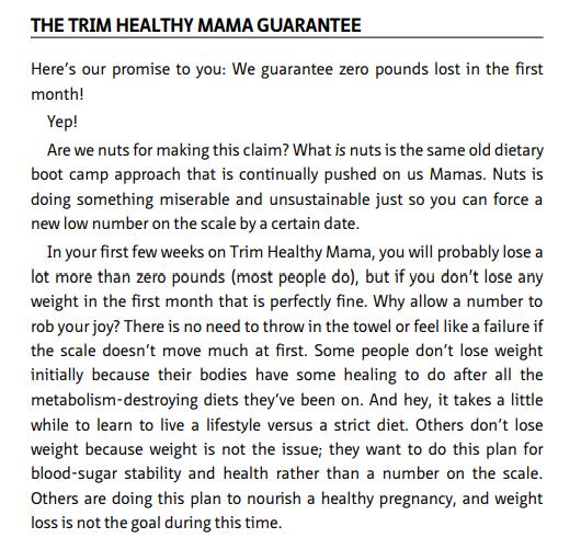 Trim Healthy Mama Plan by Barrett & Pearl