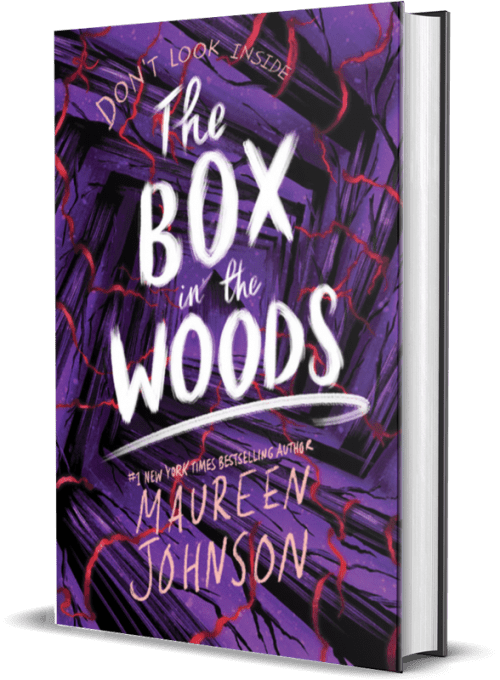 Box in the woods by Maureen Johnson