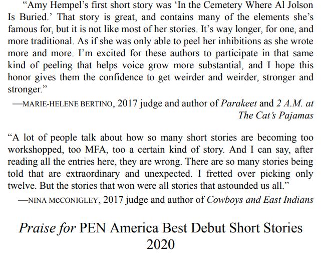 Best Debut Short Stories 2021 by Yuka Igarashi