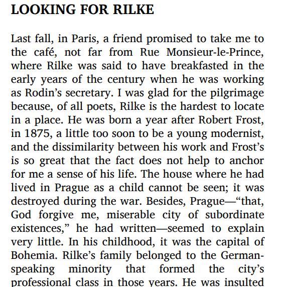 The selected poetry of Rainer Maria Rilke by Rainer Maria Rilke